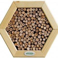 Nichoir pour abeilles sauvages et guêpes fouisseuses