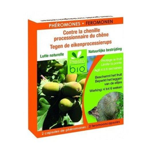 2 capsules à phéromones - chenille processionnaire chêne
