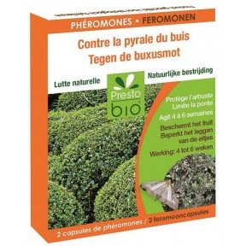 capsules à phéromones contre la pyrale du Buis