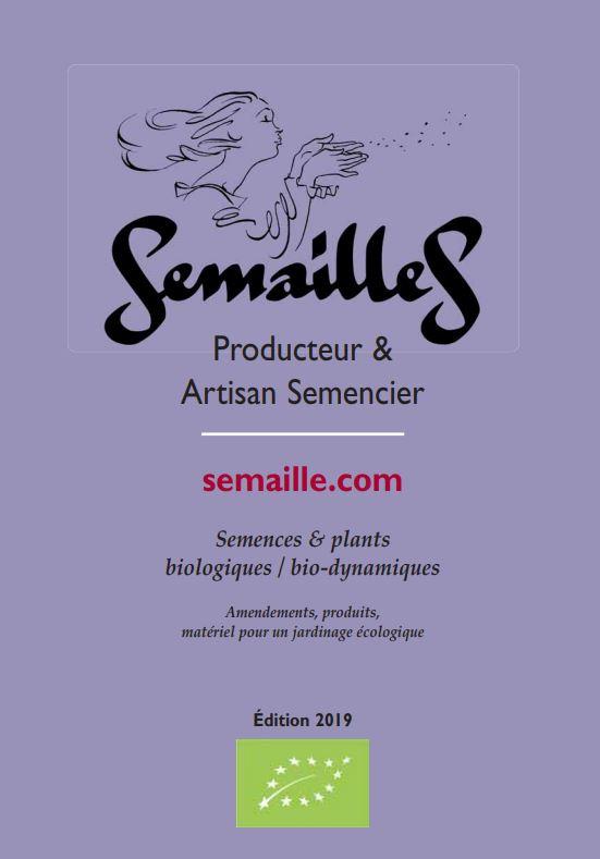 da00f2478a6 Catalogue Semailles 2019 - Près de 700 variétés de semences bio ...